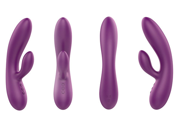Sexy Toys Female silicone rabbit Vibrators-2