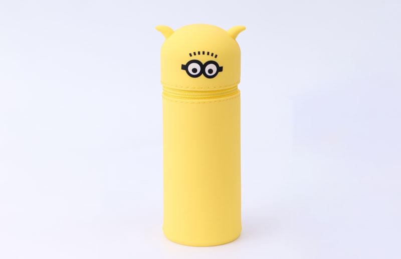 Cartoon design soft Silicone Pen Case