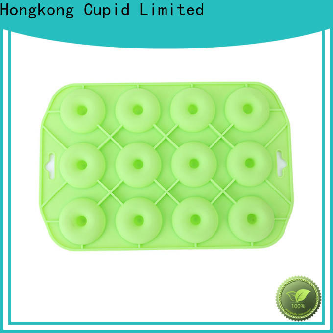 Cupidove embossed silicone cupcake molds factory price baking