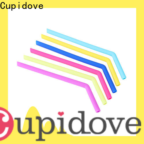 Cupidove silicone straw supplier for kids