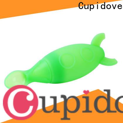 Cupidove waterproof silicone bib directly sale for feeding