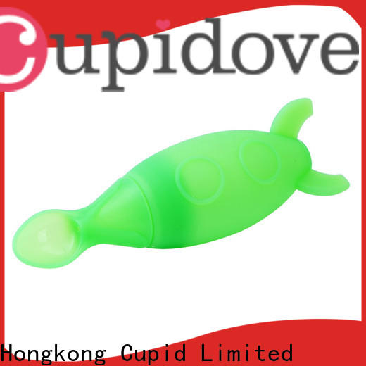 Cupidove high quality rubber baby bibs wholesale for feeding