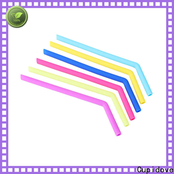 foldable silicone drinking straws customized for foods