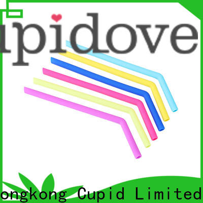 large capacity reusable silicone straws supplier for dinner