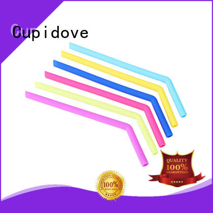 Cupidove silicone straw supplier for dinner