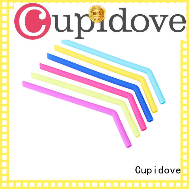Cupidove silicone straw manufacturer for foods