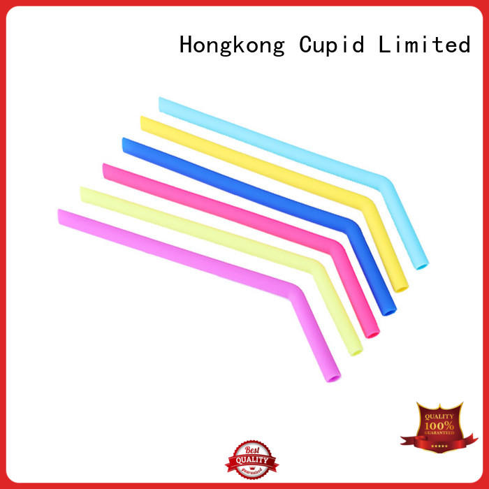 large capacity reusable silicone straws supplier for kids