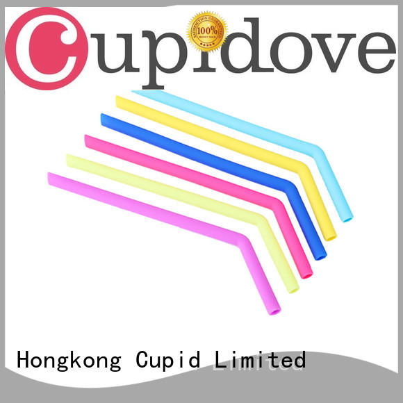 Cupidove reusable silicone straws manufacturer for kids