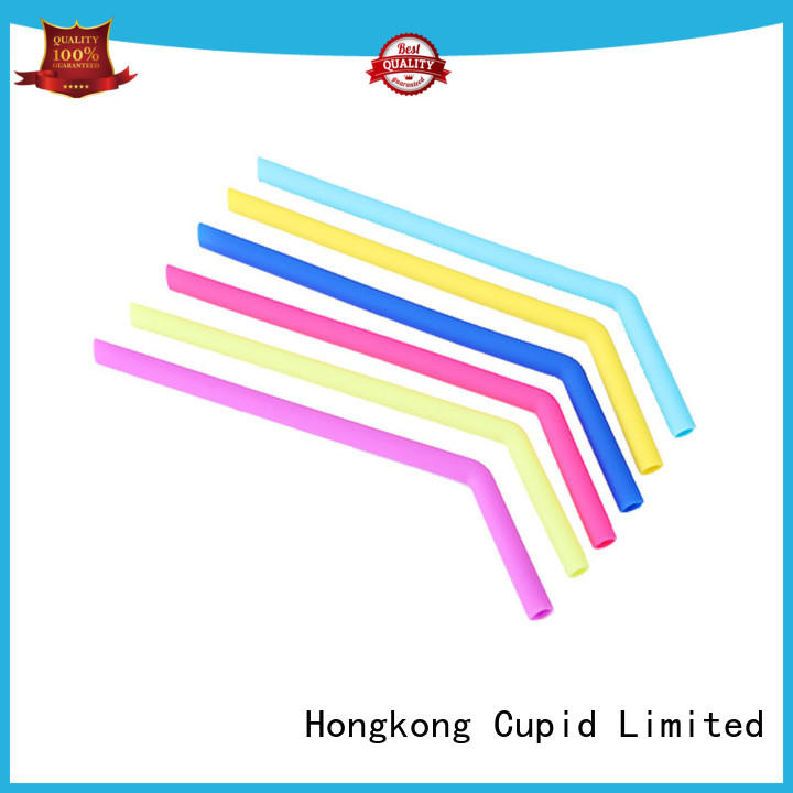 Cupidove reusable silicone straws supplier for kids