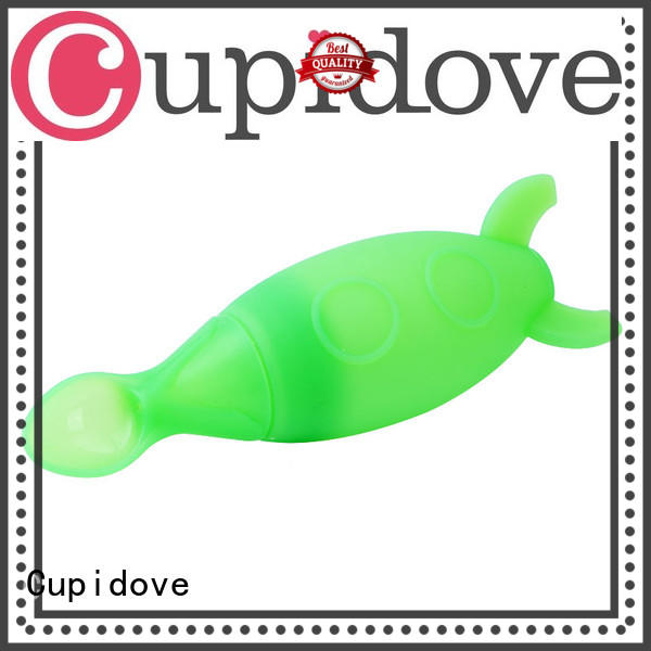 Cupidove waterproof silicone baby feeder customized for children