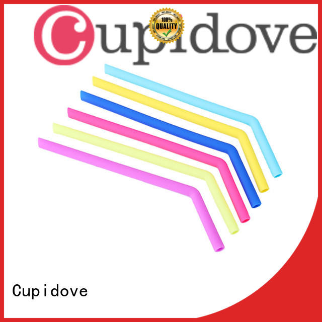 portable silicone drinking straws directly sale for foods