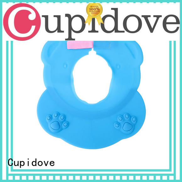 Cupidove food grade rubber baby bibs factory price for feeding