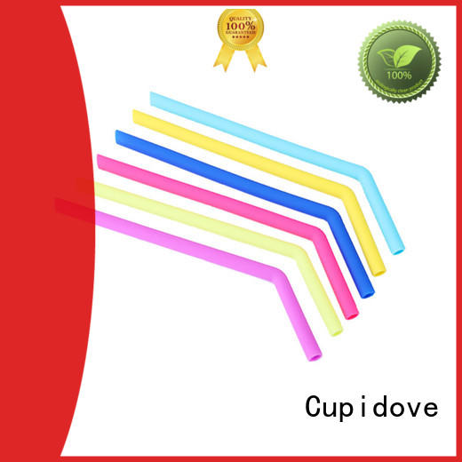 Cupidove silicone straw factory for dinner