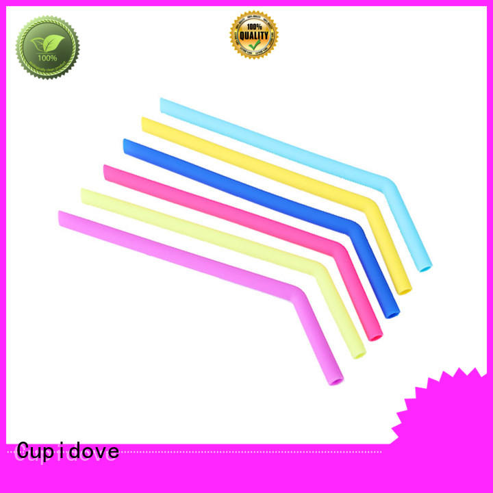smooth silicone straw directly sale for kids
