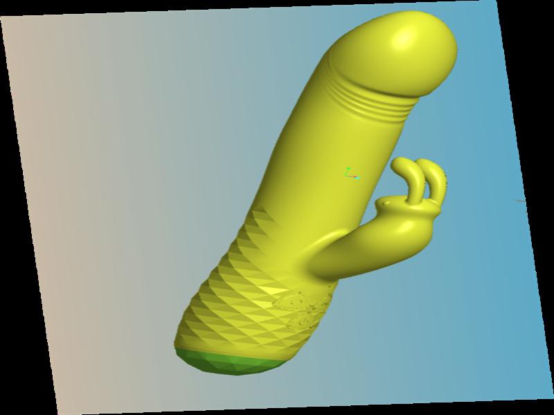NEW RELEASE of Rotating Rabbit Vibrator